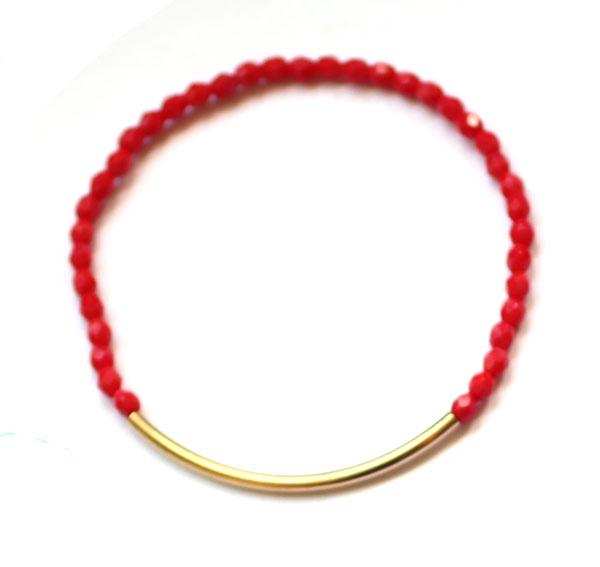 pink-gold-tube-bracelet-handmade-jewelry